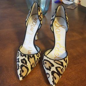 Sam Edelman cheetah Print Pumps